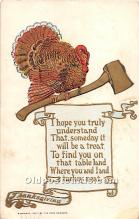 hol061739 - Thanksgiving Old Vintage Antique Postcard Post Card