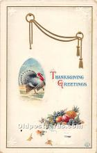 hol061746 - Thanksgiving Old Vintage Antique Postcard Post Card