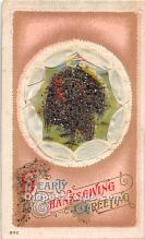 hol061747 - Thanksgiving Old Vintage Antique Postcard Post Card