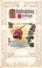 hol061749 - Thanksgiving Old Vintage Antique Postcard Post Card