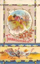 hol061758 - Thanksgiving Old Vintage Antique Postcard Post Card