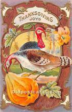 hol061771 - Thanksgiving Old Vintage Antique Postcard Post Card