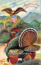 hol061774 - Thanksgiving Old Vintage Antique Postcard Post Card