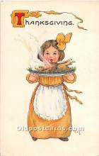 hol061780 - Thanksgiving Old Vintage Antique Postcard Post Card