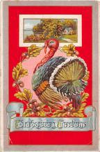 hol061794 - Thanksgiving Old Vintage Antique Postcard Post Card