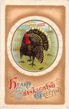 hol061802 - Thanksgiving Old Vintage Antique Postcard Post Card