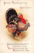 hol061805 - Thanksgiving Old Vintage Antique Postcard Post Card
