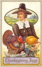 hol061809 - Thanksgiving Old Vintage Antique Postcard Post Card