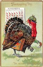 hol061811 - Thanksgiving Old Vintage Antique Postcard Post Card
