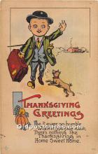 hol061813 - Thanksgiving Old Vintage Antique Postcard Post Card