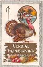 hol061816 - Thanksgiving Old Vintage Antique Postcard Post Card