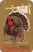 hol061817 - Thanksgiving Old Vintage Antique Postcard Post Card
