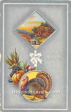 hol061819 - Thanksgiving Old Vintage Antique Postcard Post Card