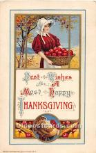 hol061830 - Thanksgiving Old Vintage Antique Postcard Post Card