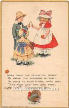 hol061832 - Thanksgiving Old Vintage Antique Postcard Post Card