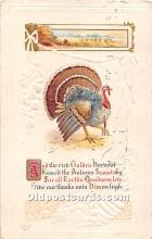hol061835 - Thanksgiving Old Vintage Antique Postcard Post Card