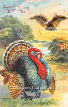 hol061841 - Thanksgiving Old Vintage Antique Postcard Post Card