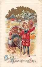 hol061845 - Thanksgiving Old Vintage Antique Postcard Post Card