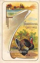 hol061861 - Thanksgiving Old Vintage Antique Postcard Post Card