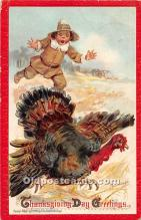 hol061876 - Thanksgiving Old Vintage Antique Postcard Post Card