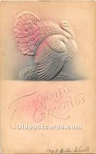 hol061882 - Thanksgiving Old Vintage Antique Postcard Post Card