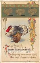 hol061897 - Thanksgiving Old Vintage Antique Postcard Post Card
