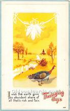 hol061898 - Thanksgiving Old Vintage Antique Postcard Post Card