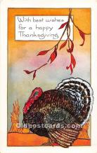 hol061905 - Thanksgiving Old Vintage Antique Postcard Post Card