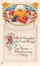 hol061908 - Thanksgiving Old Vintage Antique Postcard Post Card