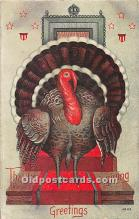 hol061911 - Thanksgiving Old Vintage Antique Postcard Post Card