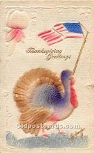 hol061913 - Thanksgiving Old Vintage Antique Postcard Post Card