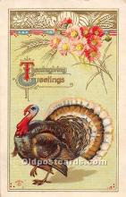 hol061916 - Thanksgiving Old Vintage Antique Postcard Post Card