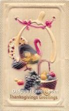 hol061923 - Thanksgiving Old Vintage Antique Postcard Post Card