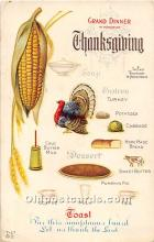 hol061940 - Thanksgiving Old Vintage Antique Postcard Post Card