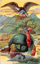 hol061944 - Thanksgiving Old Vintage Antique Postcard Post Card