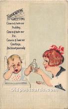hol061947 - Thanksgiving Old Vintage Antique Postcard Post Card