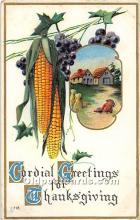 hol061949 - Thanksgiving Old Vintage Antique Postcard Post Card