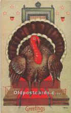 hol061959 - Thanksgiving Old Vintage Antique Postcard Post Card