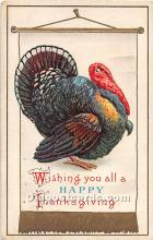hol061962 - Thanksgiving Old Vintage Antique Postcard Post Card