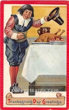 hol061970 - Thanksgiving Old Vintage Antique Postcard Post Card
