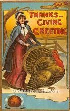 hol061976 - Reproduction - Thanksgiving Old Vintage Antique Postcard Post Card