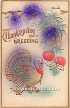 hol061983 - Thanksgiving Old Vintage Antique Postcard Post Card