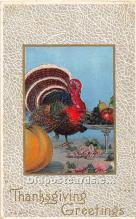 hol061996 - Thanksgiving Old Vintage Antique Postcard Post Card