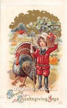 hol062000 - Thanksgiving Old Vintage Antique Postcard Post Card