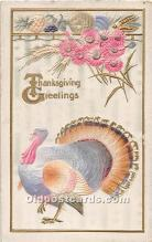 hol062010 - Thanksgiving Old Vintage Antique Postcard Post Card