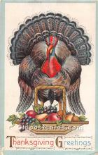 hol062017 - Thanksgiving Old Vintage Antique Postcard Post Card