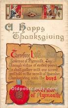 hol062020 - Thanksgiving Old Vintage Antique Postcard Post Card