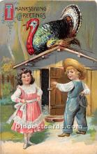 hol062021 - Thanksgiving Old Vintage Antique Postcard Post Card