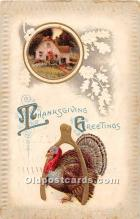 hol062022 - Thanksgiving Old Vintage Antique Postcard Post Card