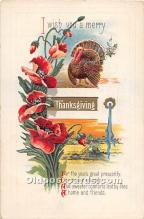hol062024 - Thanksgiving Old Vintage Antique Postcard Post Card